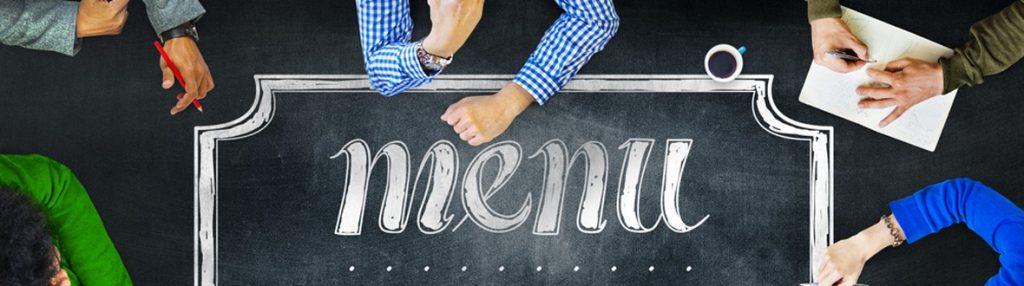 Menu Planning by Kitchen CUT - Global Recipe Costing Software - www.kitchencut.com