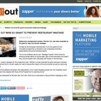 Eat Out Magazine Website - May 2015