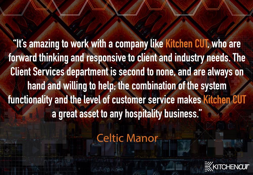 Celtic Manor - Client Services