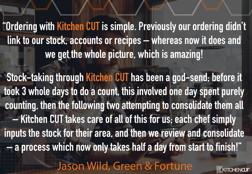 Green & Fortune - Ordering and Stock Taking Testimonial